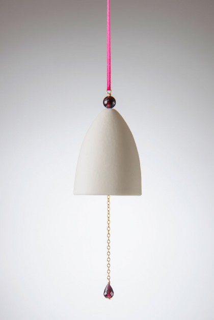 Porcelain Bell Red