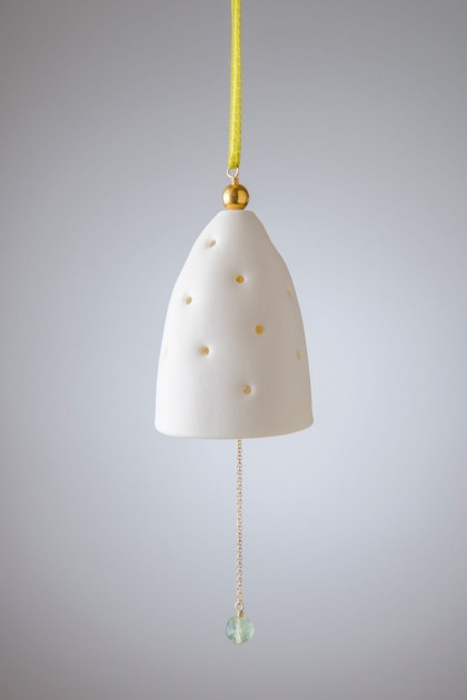 Porcelain Bell Green